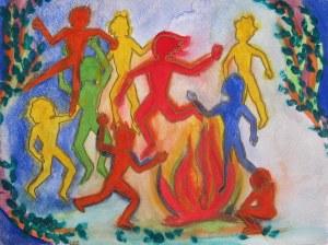 sml fire dance